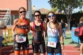 Andrea Garc�a gana el Triatl�n de la Mujer