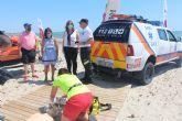 Comienza el servicio de vigilancia en las Playas del Mar Menor con nuevas normas de seguridad y prevención