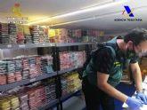 La Guardia Civil interviene casi 600.000 euros en accesorios y componentes de telefonía móvil falsificados