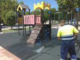San Pedro del Pinatar pone a punto más de 40 parques y zonas de juego infantiles para su reapertura