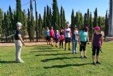 La Concejalía de Salud y Deportes de Las Torres de Cotillas enseña marcha nórdica