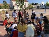 El Ayuntamiento planta 30 nuevos árobles en el CEIP 'Ntra. Sra. Vigen de Loreto'