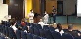 Comerciantes de San Javier asisten a un taller  sobre piscología positiva para potenciar sus ventas