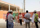 En marcha las obras de ampliación delcolegioJuanAntonioLópez Alcaraz de Puerto Lumbreras