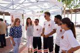 Presentada en Mazarrón una campaña que difunde consejos sobre un baño seguro en las costas de la región