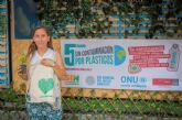 La campaña 'Sin Contaminación Por Plásticos' logra reunir cerca de 6000 botellas y 9000 bolsas desechables en la UMU