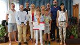 Lorquí reconoce los éxitos deportivos de la campeona nacional de taekwondo Elena Ruiz Reyes