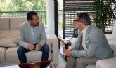 Mario Gómez solicita al delegado del Gobierno la convocatoria de la comisión de seguimiento de las obras de soterramiento