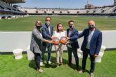 Infraestructuras prepara los trabajos de adecuación del Estadio Cartagonova tras el ascenso del Fútbol Club Cartagena