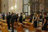 La alcaldesa asisteael acto de homenaje a las víctimas de la Covid-19 en la Región de Murcia