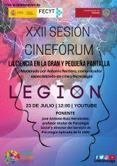 El cinefórum ´La Ciencia en la gran y la pequena pantalla´ analiza psicosocialmente la serie Legión