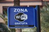 Instalan 14 nuevos puntos wifi gratuitos en los jardines de Alhama