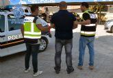La Policía Nacional detiene a cuatro ladrones en Molina de Segura