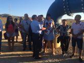 Mar�a Gonz�lez Veracruz se re�ne con los agricultores afectados por los expedientes de regad�o del Raiguero