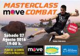 El próximo sábado Move impartirá una Master Class de Combat en la Playa de la Ermita en el Puerto de Mazarrón