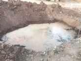 Se invertirán 80.000 euros en instalar dos tuberías que mejoren el servicio de la zona norte de Totana