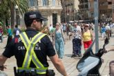 Seguridad Ciudadana aumenta el control del trafico en el Casco Antiguo