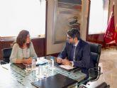 La alcaldesa logra el compromiso del presidente de la CARM para la puesta en marcha de un nuevo Plan de Barrios y Diputaciones en 2018