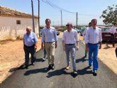 Una nueva conducción de 7.000 metros lineales abastece de agua potable a los vecinos del Paraje del Cojo de Corvera