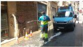 La Oficina Municipal del Grafiti ha limpiado más de 13.700 m2 de superficie en el municipio