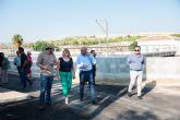 ESAMUR mejora las instalaciones de la depuradora de Camposol
