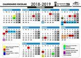 Este curso escolar 2018/19 en Totana comenzará en Educación Infantil y Primaria el próximo 7 de septiembre