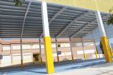 La comunidad educativa del CEIP 'San José' podrá disfrutar ya de las instalaciones de la nueva pista polideportiva este curso escolar 2019/20