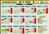 Este curso escolar 2019/20 en el municipio de Totana comenzará en Educación Infantil y Primaria el próximo 9 de septiembre; mientras que en la ESO y Bachillerato lo harán el 13 y en FP el 17 del mismo mes