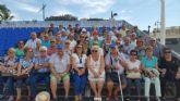 Los mayores reanudan el programa de viajes culturales con un paseo en barco por Cartagena