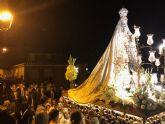 Fernando López Miras asiste a la procesión en honor a la Virgen del Carmen de Mula