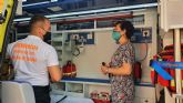 La Unidad Sanitaria de Protección Civil de Molina de Segura dispone desde hoy de ambulancia para soporte vital básico
