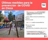Se cierran 6 espacios públicos para prevenir situaciones de riesgo de contagio de coronavirus
