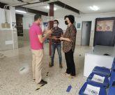 El Ayuntamiento de Puerto Lumbreras acondiciona y mejora la acústica de un aula de la Escuela Oficial de Idiomas en Puerto Lumbreras
