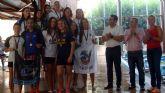 Alcantarilla acoge el XIX Trofeo Comité de Árbitros de la Federación de Natación de la Región de Murcia
