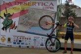 Antonio Ginés Cánovas de Framusa Saltamontes 12º de la general y 4 Máster 30 en la Desértica de Almería