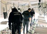 Desmantelada en Abanilla una plantación indoor con cerca de 300 plantas de marihuana
