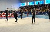 La gimnasia rítmica torreña, preparada para su tradicional exhibición navideña