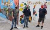Finalizados dos nuevos murales urbanos enmarcados en el 'Año Párraga'