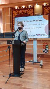 El Ayuntamiento de Molina de Segura firma un convenio de subvención nominativa con la Asociación Banda Municipal de Música para la promoción de actividades musicales