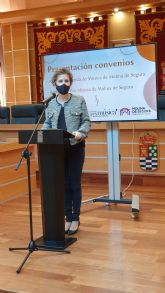 El Ayuntamiento de Molina de Segura y la Asociación Pro Música presentan el convenio firmado para la promoción de actividades musicales durante 2020