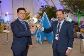 Los alcaldes de San Javier y Ponte de Sor, Portugal, preparan la Feria aeronáutica 'Iberian Air Summit'