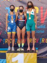 La murciana, Paula Sánchez, tercera en el Campeonato de España de Triatlón Universitario