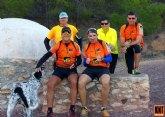 La XXV quedada del grupo de amigos de la montaña 'Kasi Ná Trail' discurrió por la ruta del Caño