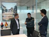 El alcalde agradece al comandante de la Guardia Civil la entrega mostrada al municipio durante su servicio