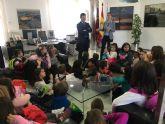 El Alcalde recibe en su despacho a los alumnos de 2° de Primaria del CEIP 'El Recuerdo'