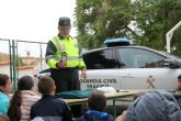 La Guardia Civil organiza una exhibición en el colegio Asunción Jordán de Puerto Lumbreras