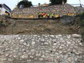 Fomento repara el muro y el firme de la vía que une Villanueva del Segura con Ulea