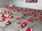 Zapatos Rojos contra la Violencia de Género. Ni una más