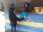 Continúa la campaña de concienciación ciudadana para fomentar la cultura del reciclaje con el Punto de Información Móvil (PIM) en los diferentes barrios, en colaboración con Ecoembes