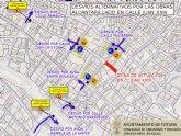 Corte de tráfico en Calle Juan XXIII por Instalación de Tramo de Red de Alcantarillado el próximo miércoles 25
